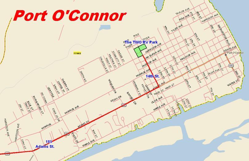 In Port O'Connor Texas